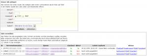 CS-Ticket: eMail-Jobs