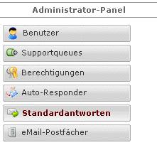 CS-Ticket: Administrator-Panel